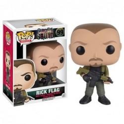 Suicide Squad Rick Flag Pop!